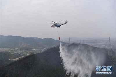 江西景德镇森林火灾已扑灭 330余人参与扑救